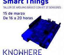 Taller de Smart Things con Arduino 37 sensores