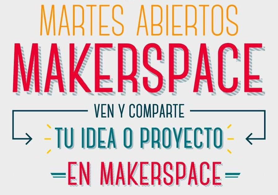 MartesMakers: aprende y comparte tus conocimientos
