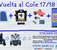Vuelve al Cole con tu Robot