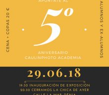 5º Aniversario Caulinphoto Academia