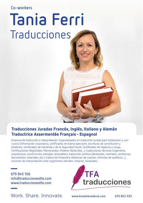 Tania Ferri – Traducciones