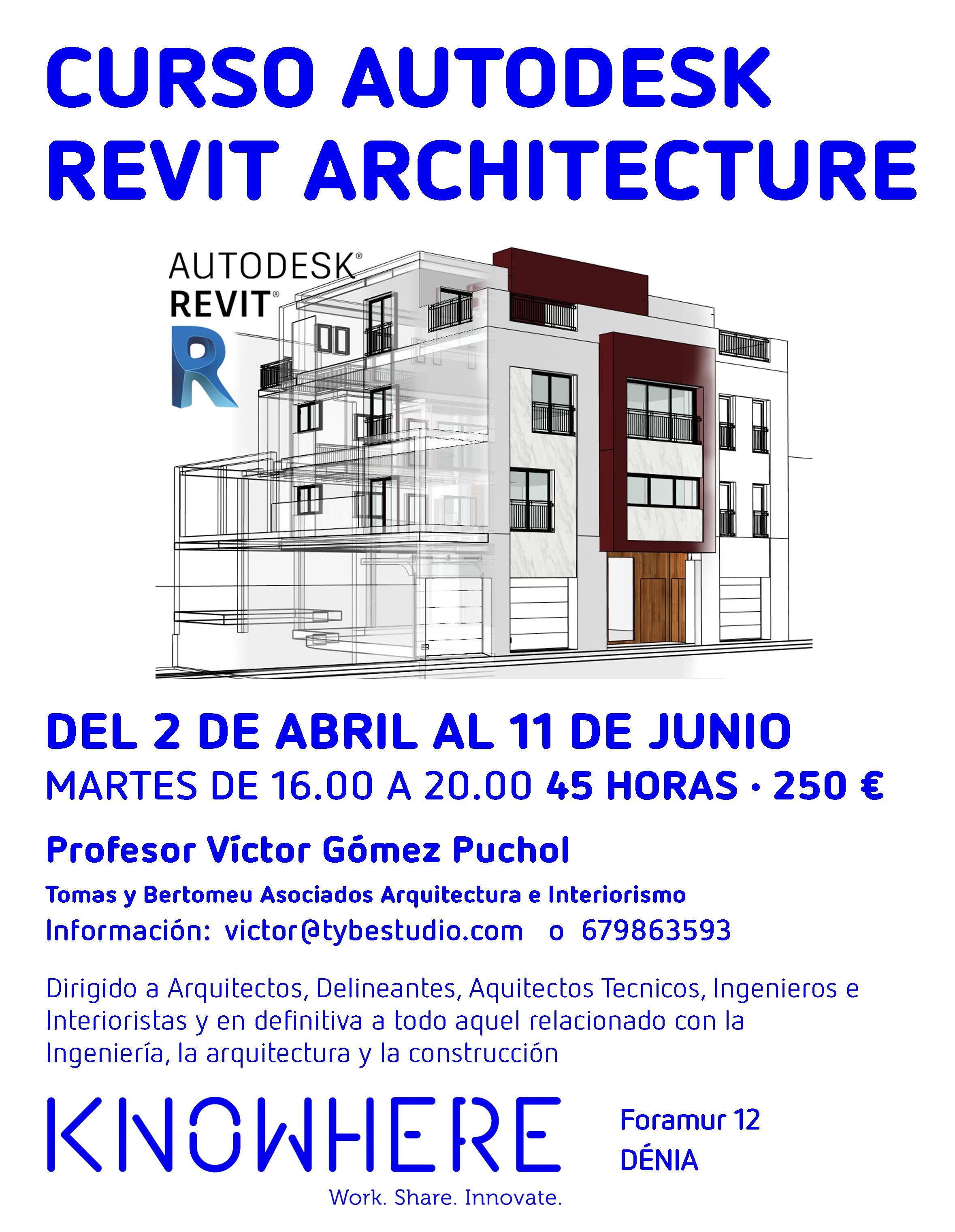 Curso Autodesk Revit Architecture